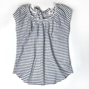 NWT LC Lauren Conrad | striped tie sleeveless top